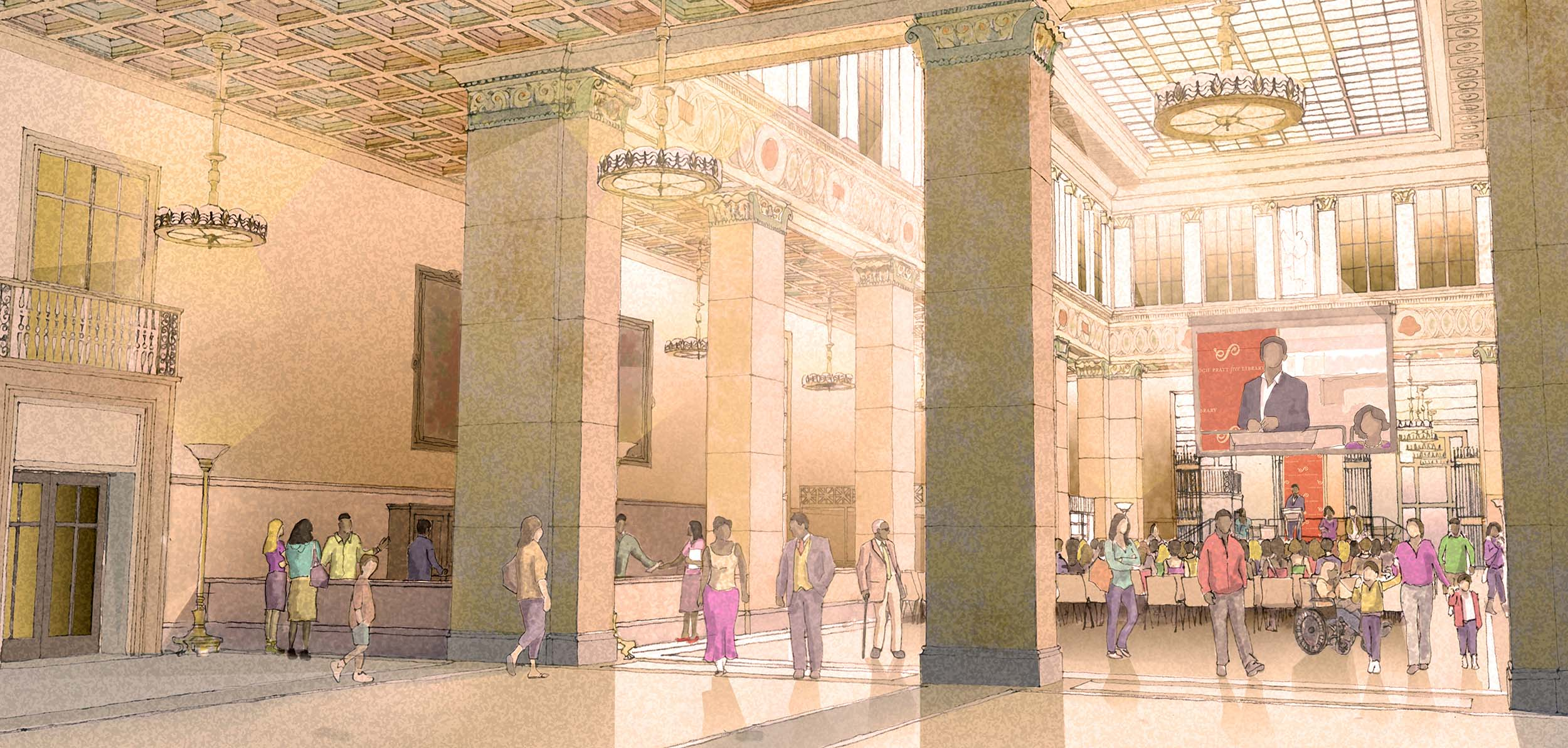When Technology Meets Classical Architecture