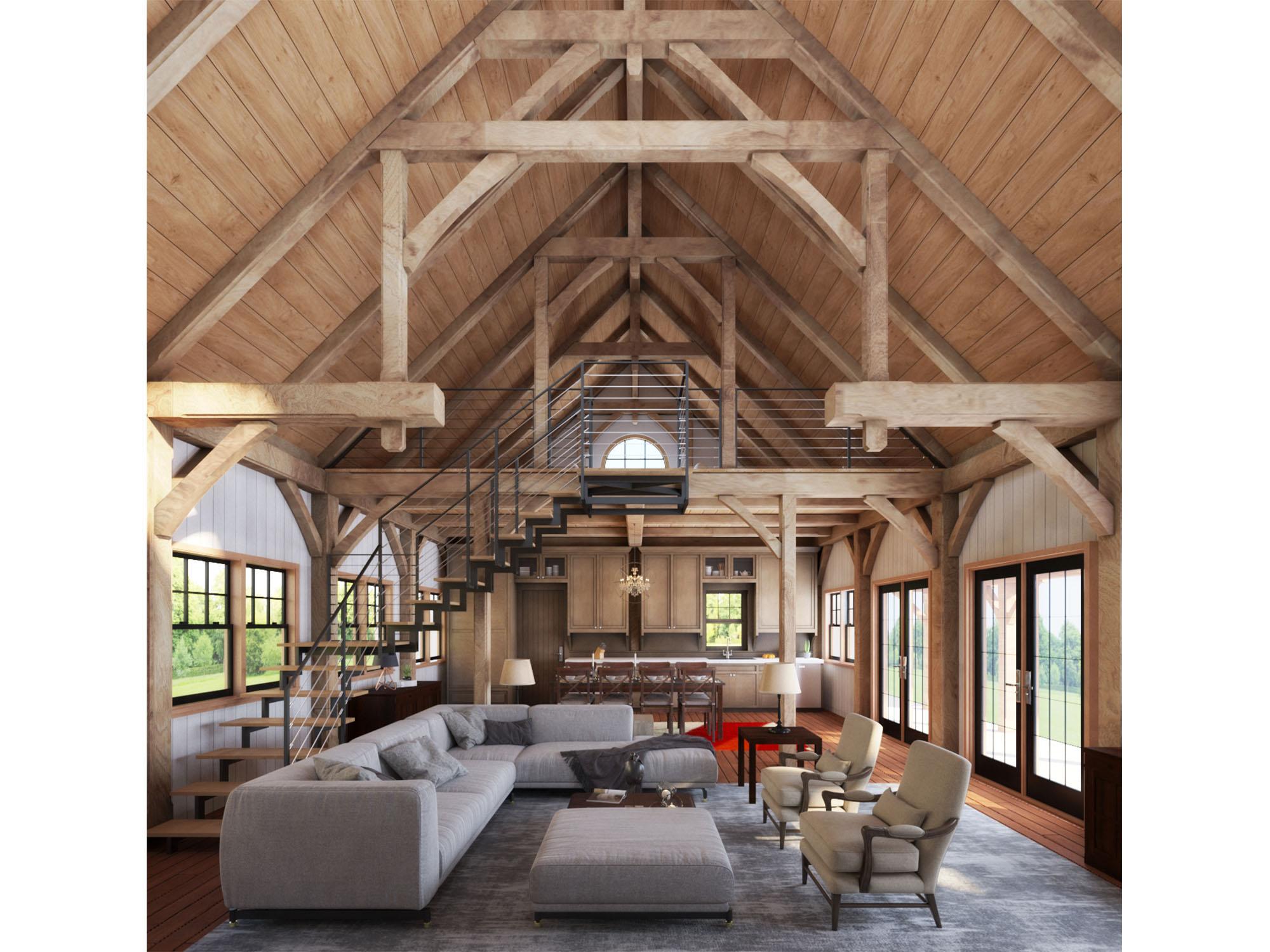 Rustic Barn House