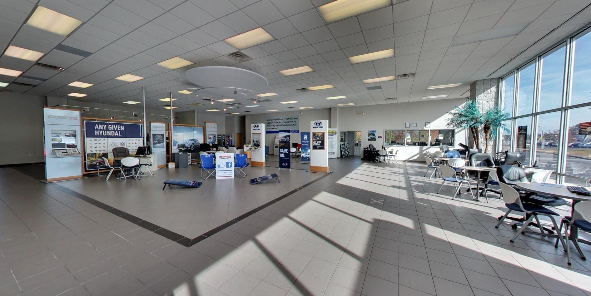 Stevenson Hyundai Interior 01.JPG