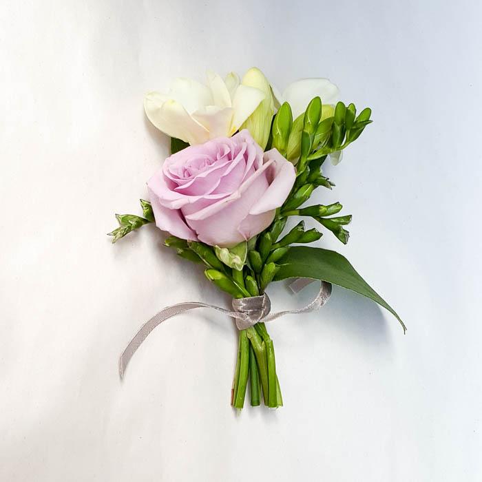 Knapphullsblomst rosa rose