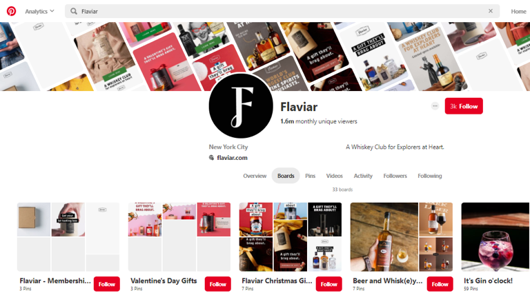 Flaviar on Pinterest
