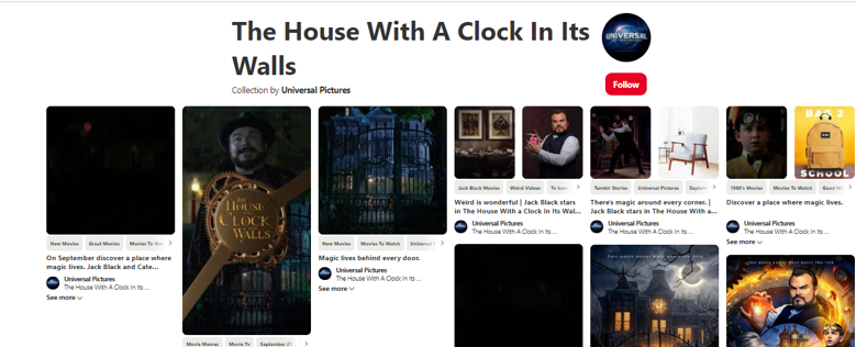 house with a clock pinterest