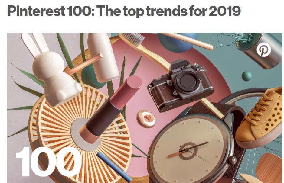 pinterest top 100 trends