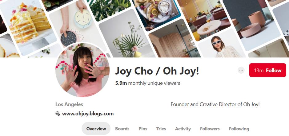 Joy Cho pinterest
