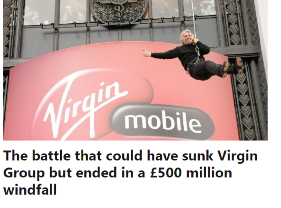 Richard Branson LinkedIn Virgin