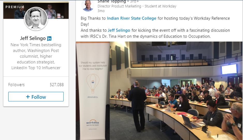 Jeff Selingo  LinkedIn