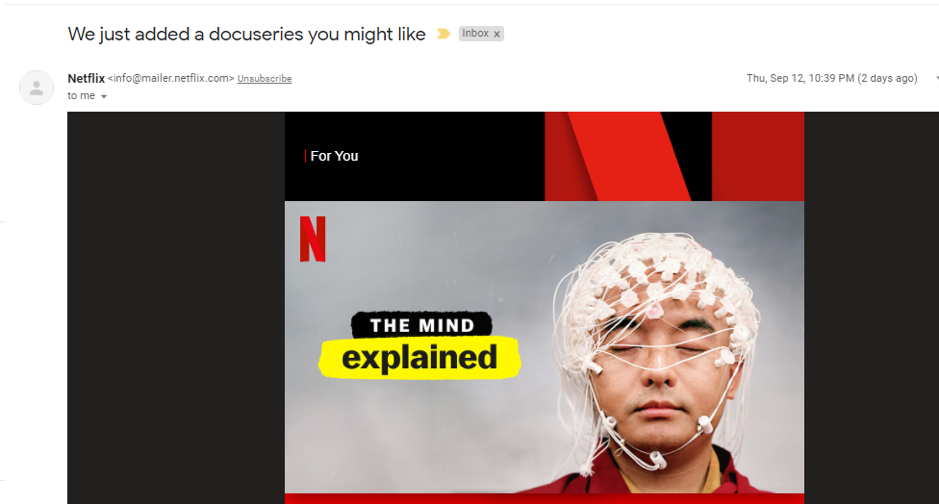netflix content personalisation
