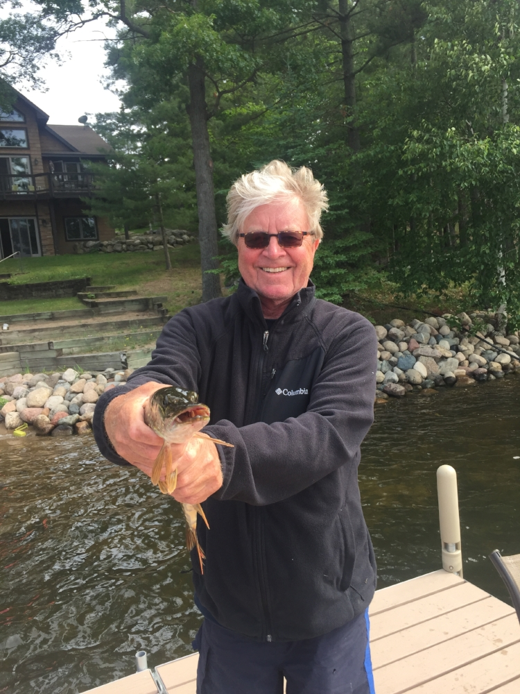 """Catching a """"Northern"""" in Minnesota, June, 2016"""