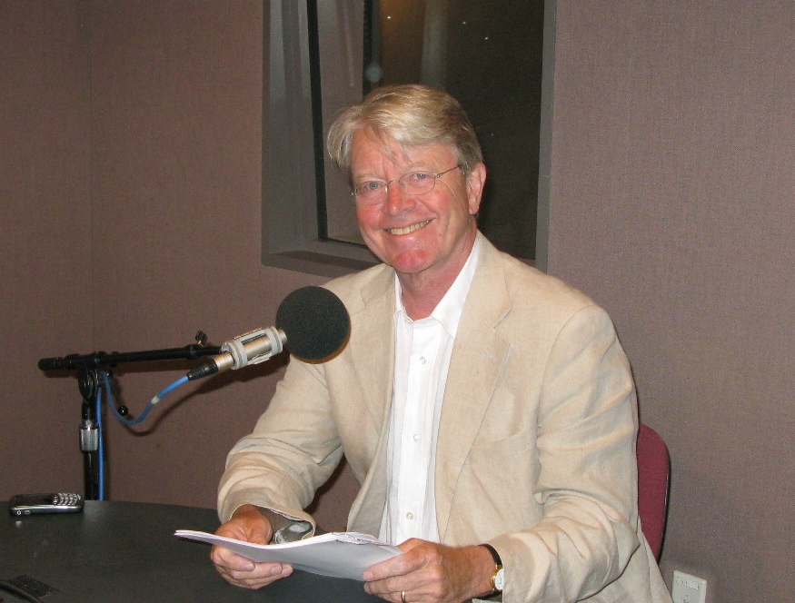 """Recording """"Postcards from the Walters"""" episodes at WYPR"""