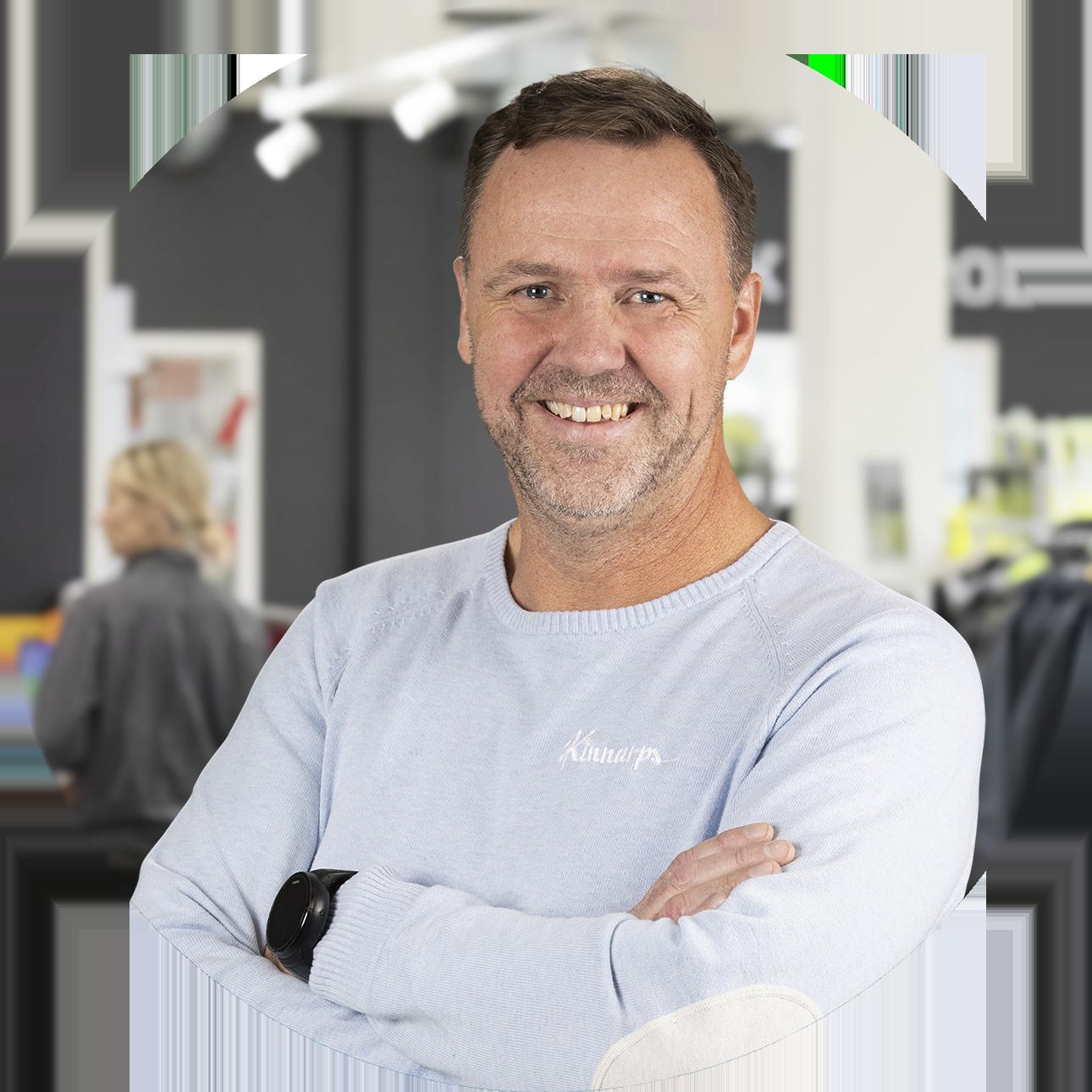 Thomas Jakobsson - Specialist på Kinnarps & ergonomiRing direkt: 0498-65 75 01thomas.jakobsson@kinnarps.se