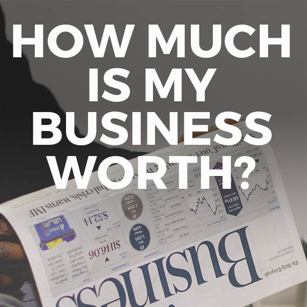 Newspaper article about how to value a business
