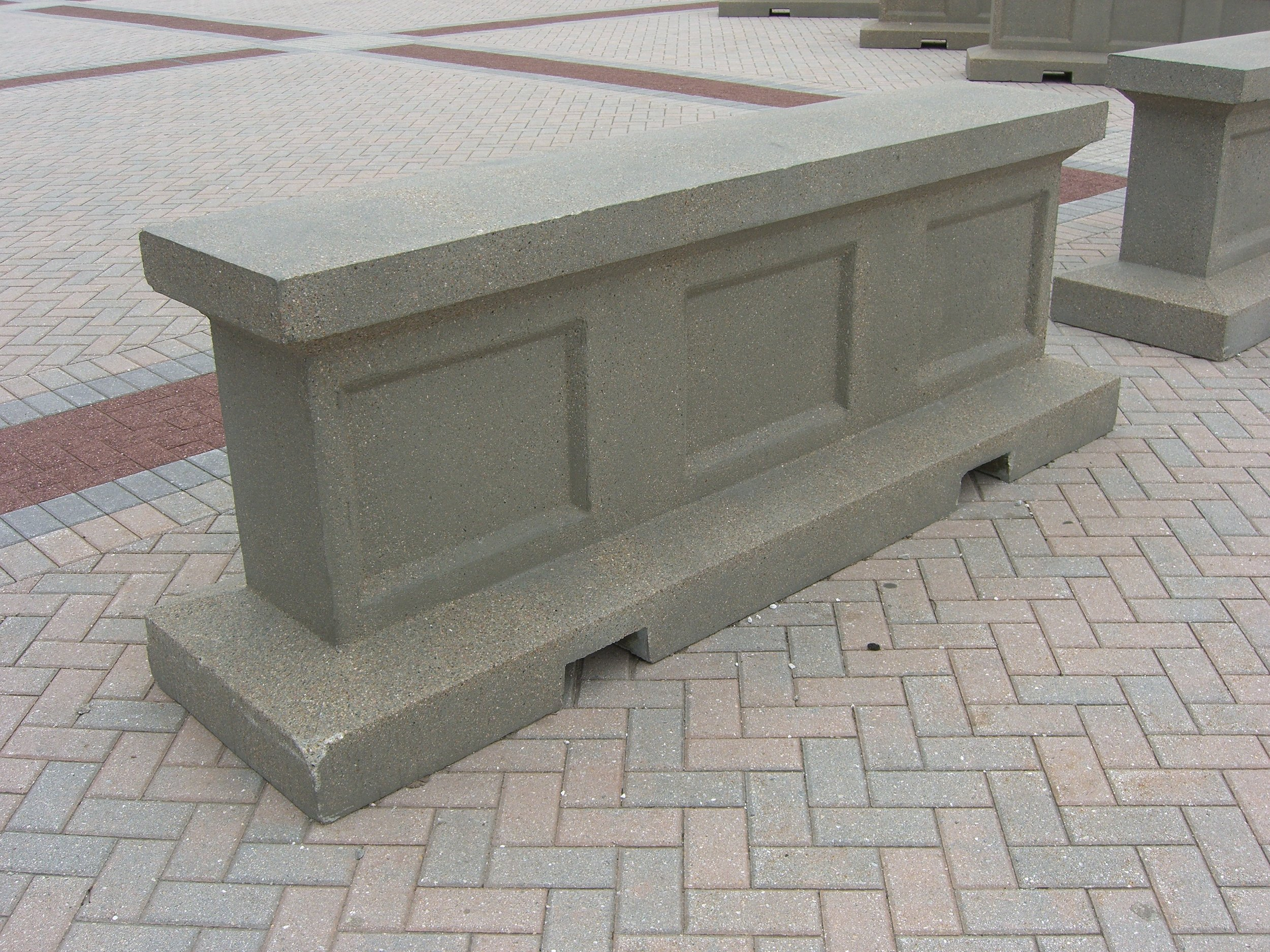 Decorative Barrier (Ford Field)