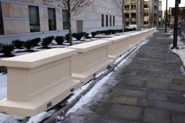 Decorative Barrier (White Finish)