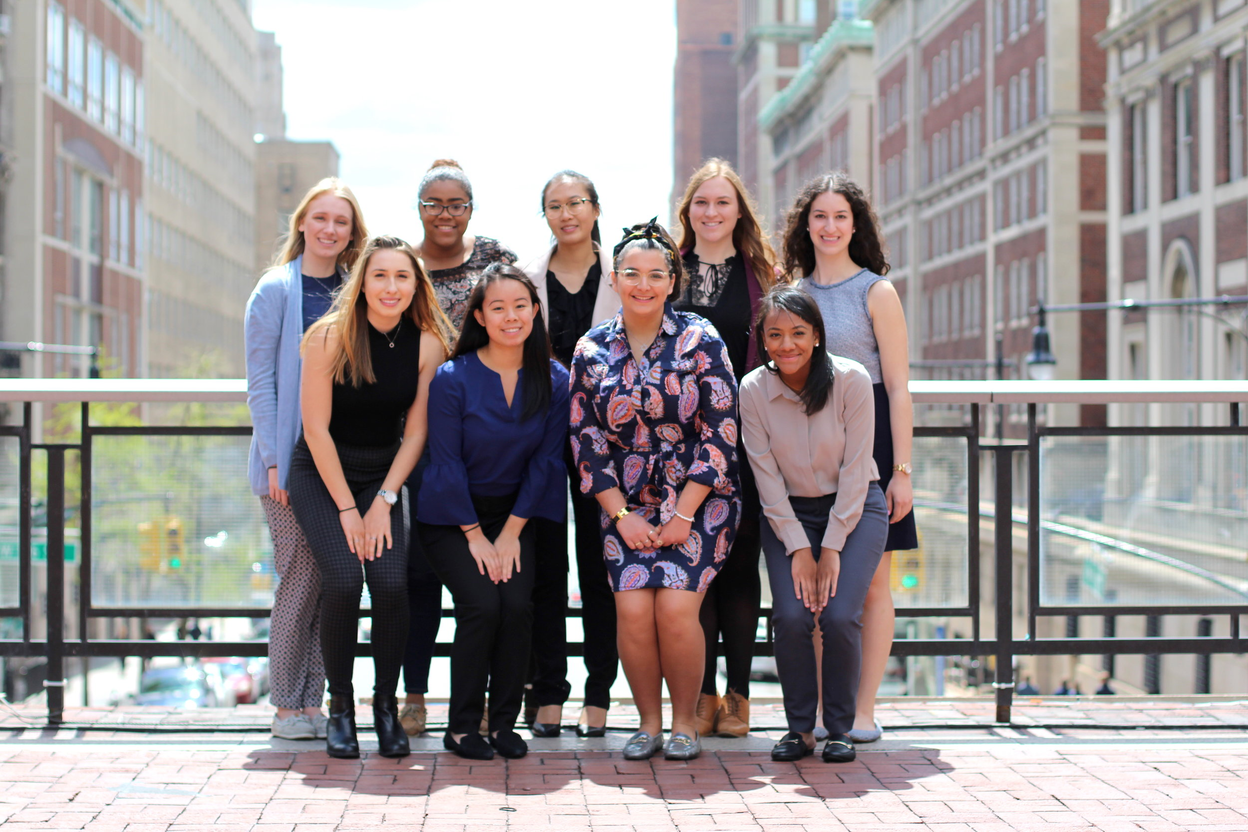 Executive Board - Made up of eleven women, the Executive Board is responsible for planning events, organizing committees, and maintaining the mission of CWBS.