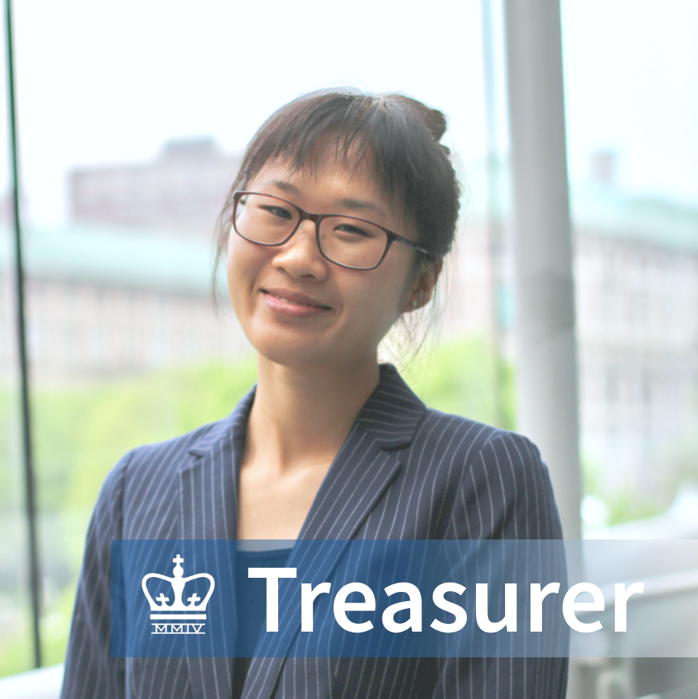Jessica Yan - School: Columbia College 2021Major: Computer ScienceHometown: Baltimore, MDInterests in the business world: FinTech & Algo Trading