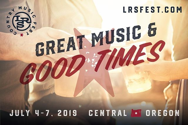 Great music and Good Times! Passes available at LRSfest.com #LRSfest19