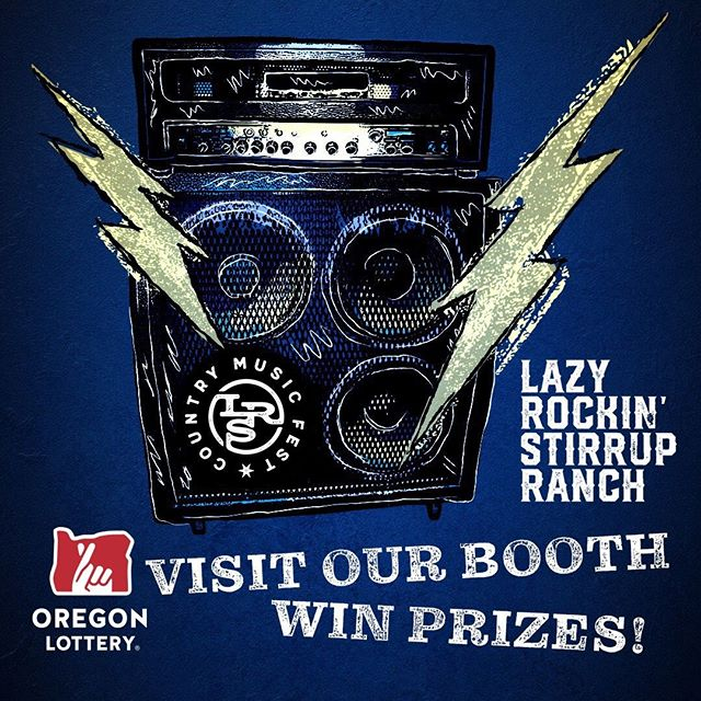 Woohoo! The Oregon Lottery is going to be at the LRS Fest! They'll be here all 3 concert days, so stop by their booth and play Roll Ball for a chance to win fun prizes.⠀⠀ ⠀⠀ ⠀⠀ Thanks Oregon Lottery for being one of our sponsors! You rock!