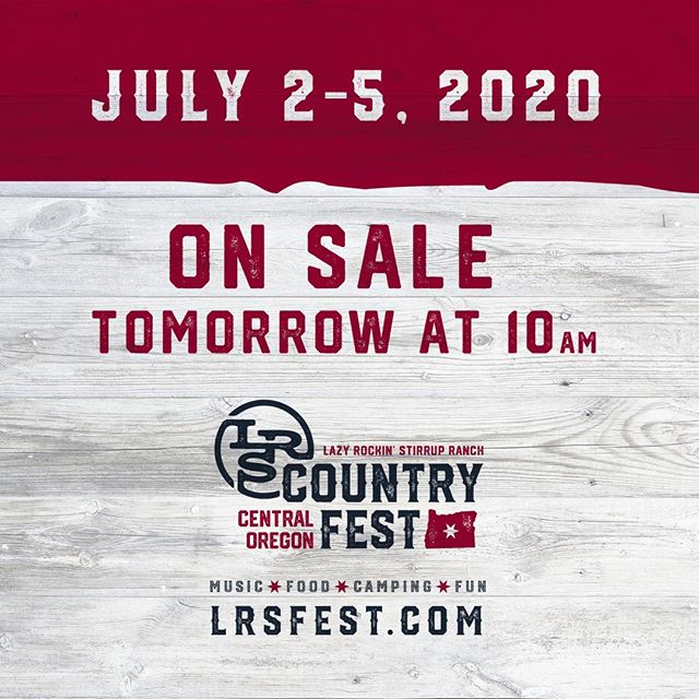 THANK YOU to EVERYONE involved in making the #LRSfest19 a success. We had a great time at the Ranch this weekend! We are excited to announce that tickets for next years event will begin pre-sale tomorrow at 10am. Seat and camping space selection will be based off of pre-sale purchase order. So get yours early! We'd like to thank all of the seed-planters who told four of their friends after the first year, and now we need the 2019 attendees to bring four of their friends next year! See you back at the Ranch!