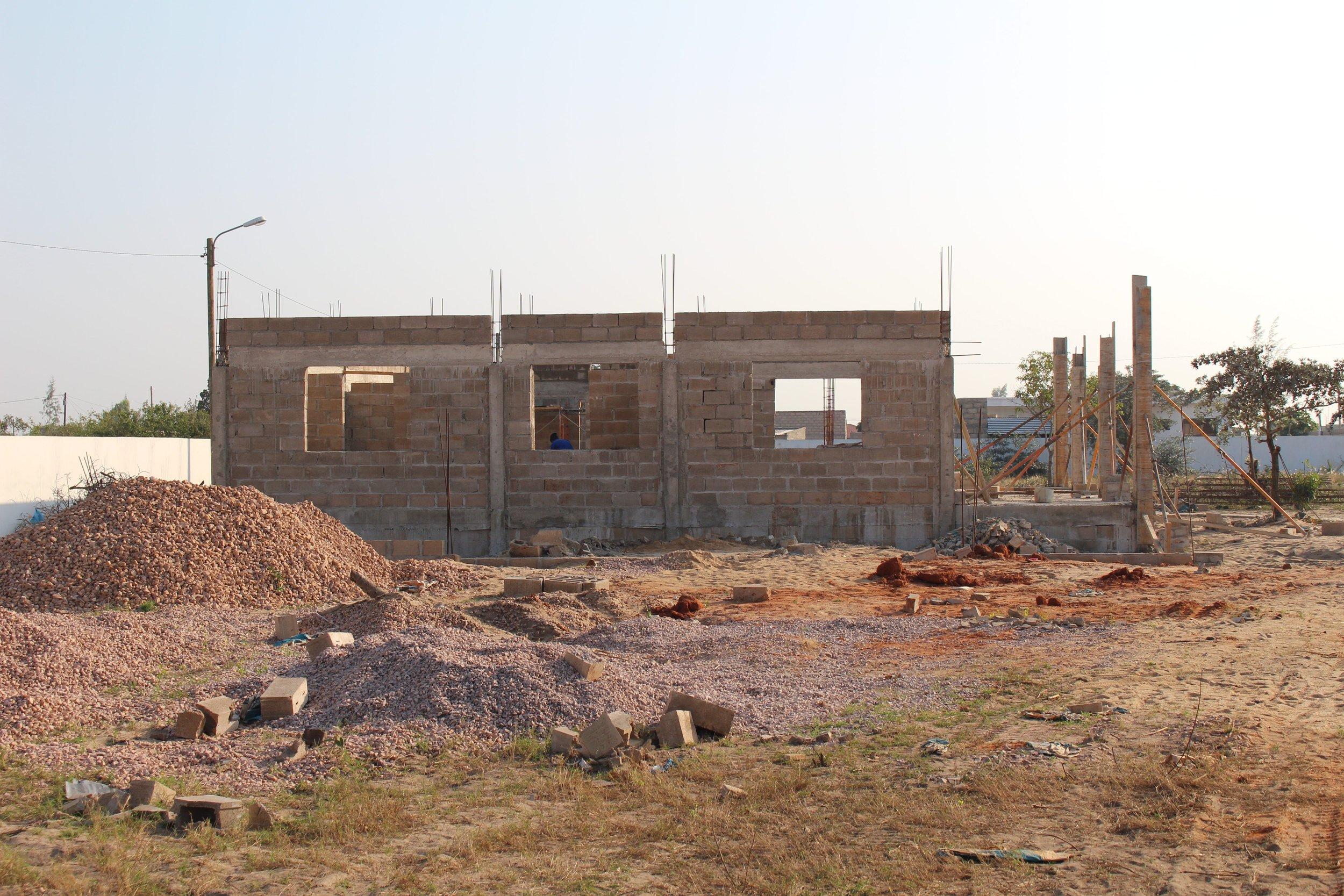 Main Laboratory under construction (July 2016)
