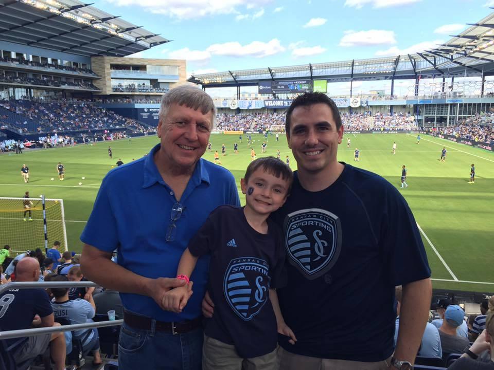 Jerry, Brady and Jim Braunschweig