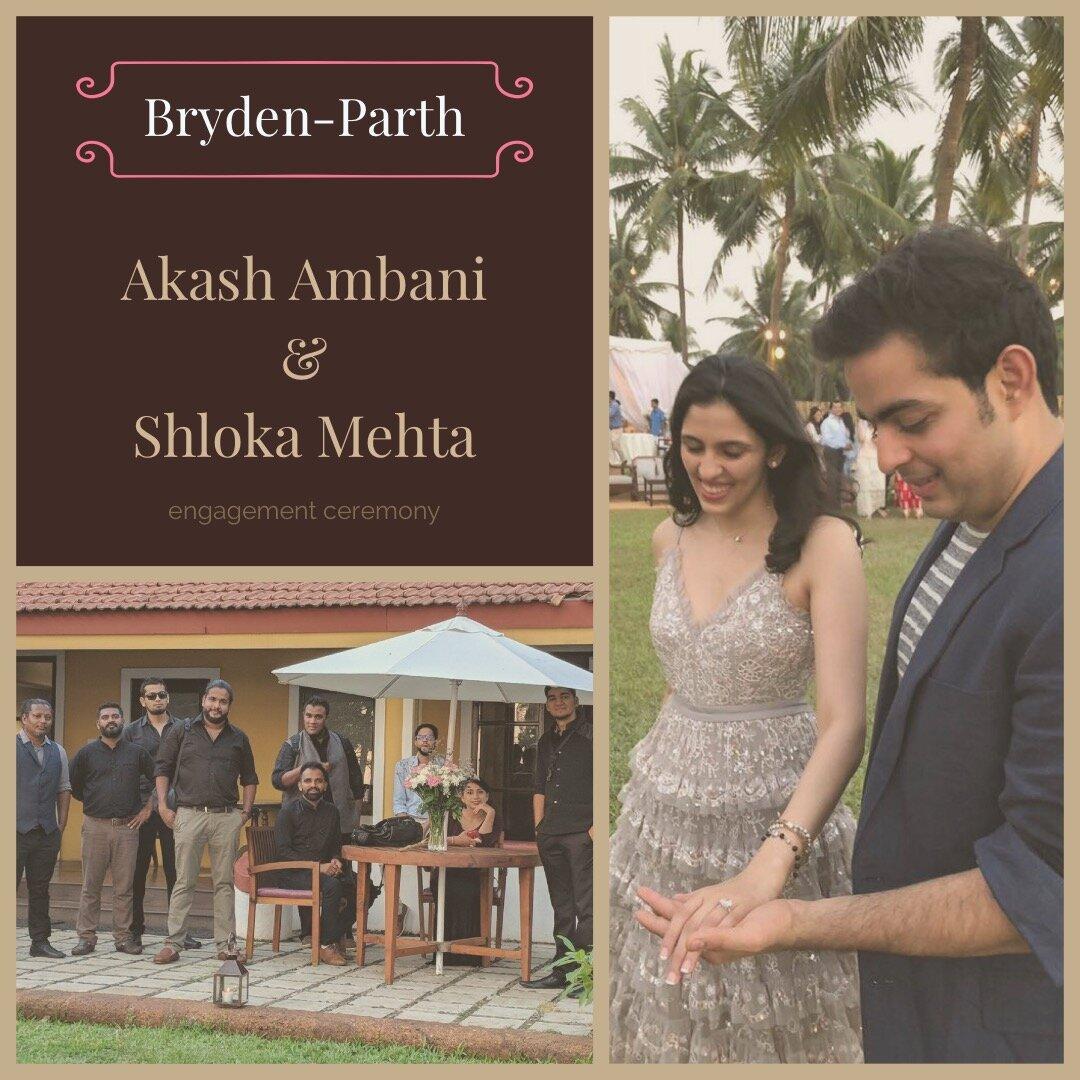 Akash Ambani and Shloka Mehta.JPG