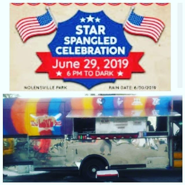 #soulroll with us Saturday #Nolensville #july4th celebration 6-10 get all your favorites #cowboynachos #catfish #bombburger #eggrolls #sweettea #fruittea #pulledpork #watermelon #familyfun #nbft #nfta #foodtrucks #fireworks #nolensvilletn #williamsoncounty #universalcrush #nashville