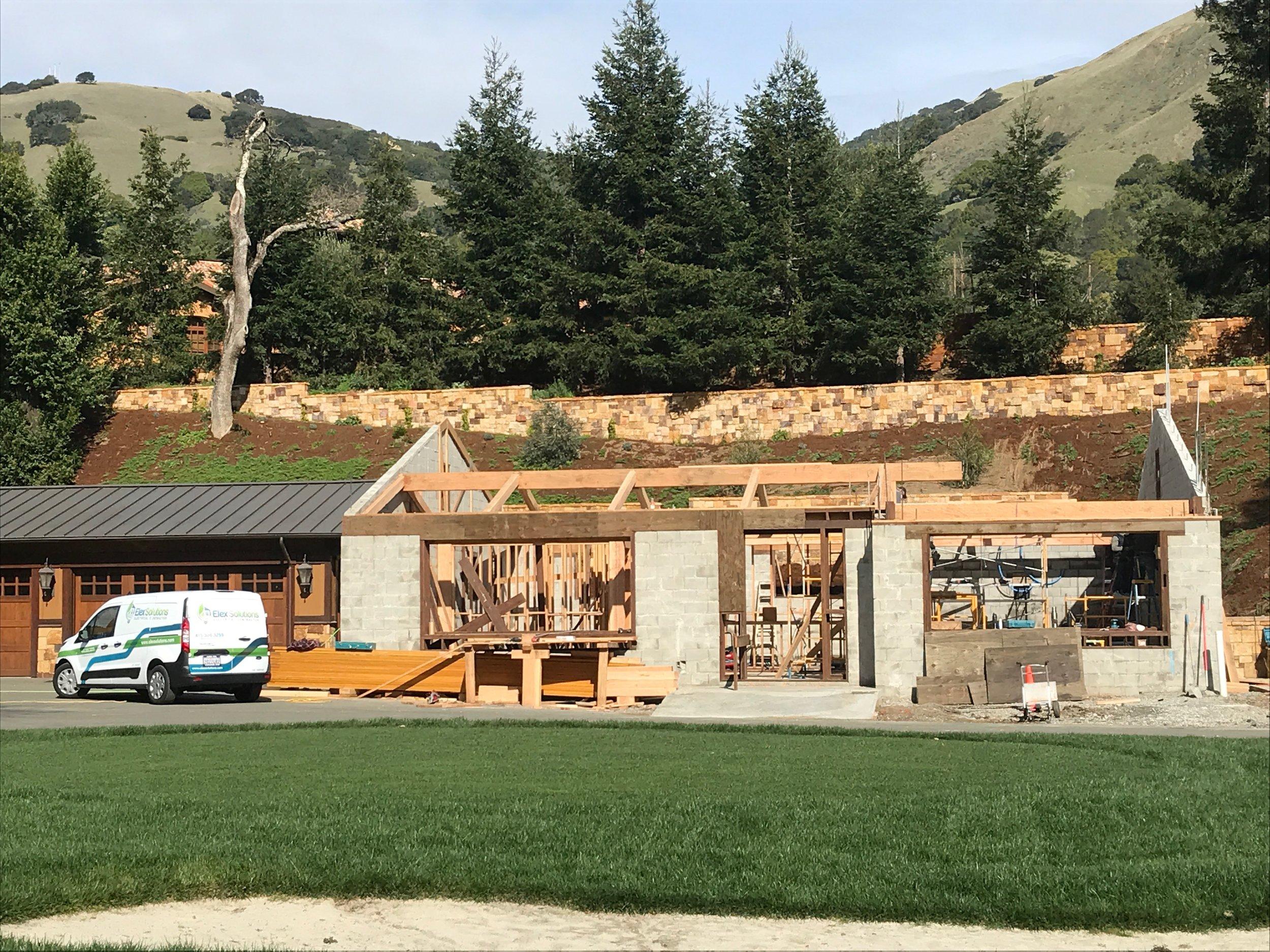 New Estate Construction - Lucas Valley, Marin County
