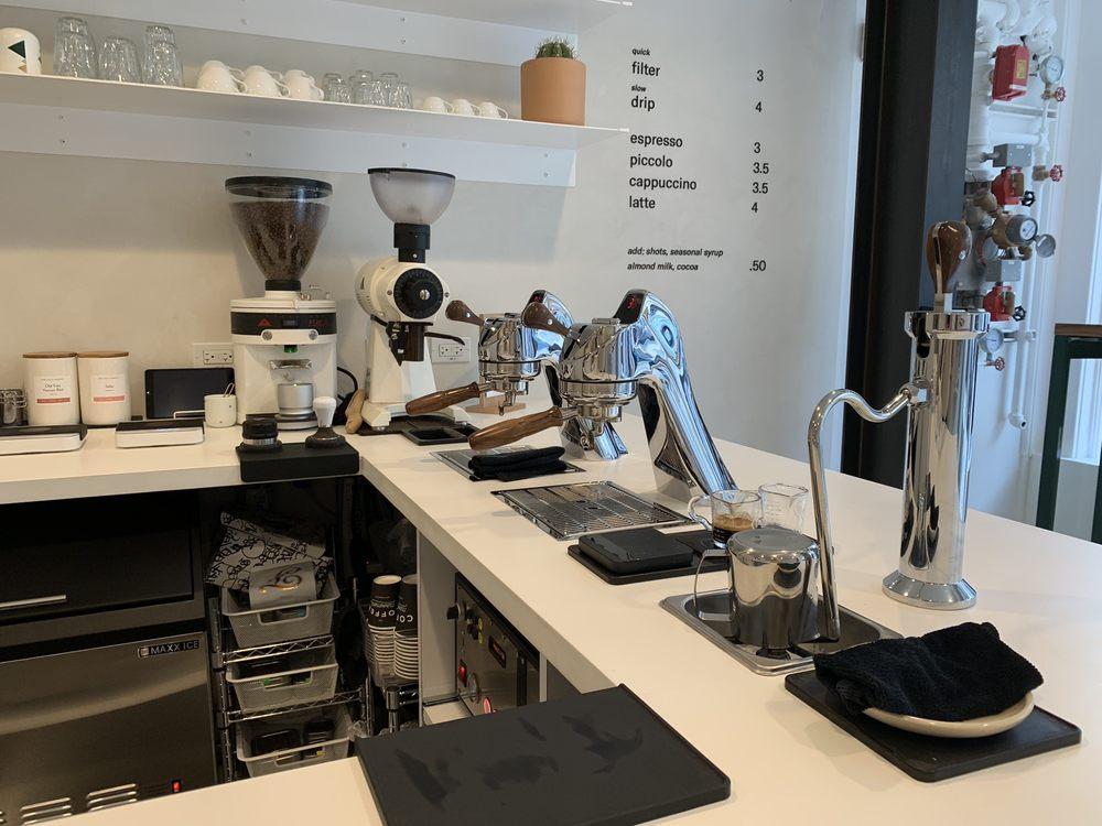 The Coffee Movement - 1030 Washington Street, San Francisco