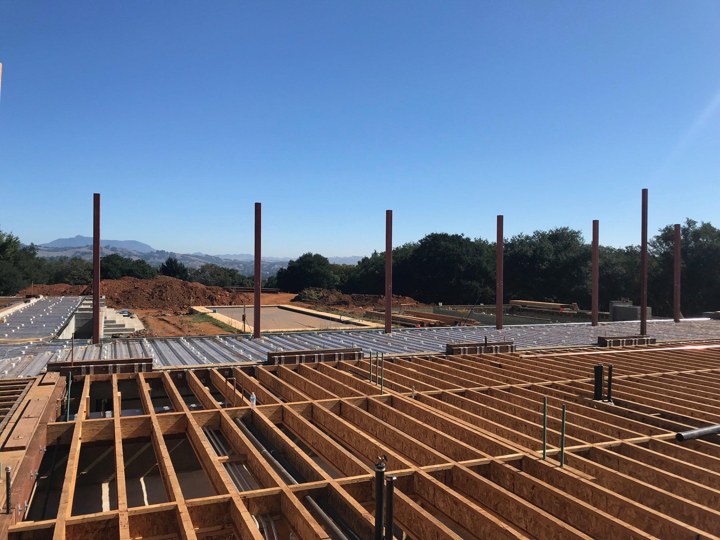 New Estate Construction - Healdsburg, Sonoma County