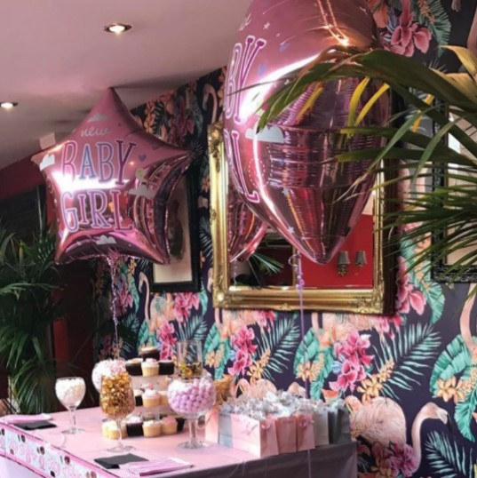 VS Design & Events Tip Numbers Shot - The Study Room London