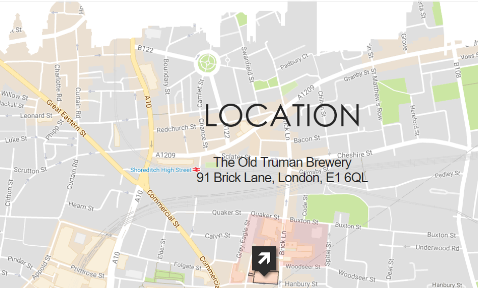 It Couldn't be easier to find us! - (Click image below for a full size map)