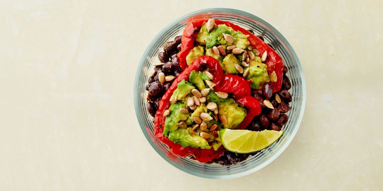 Avocado & Lime Bean Bowl from  Good Housekeeping