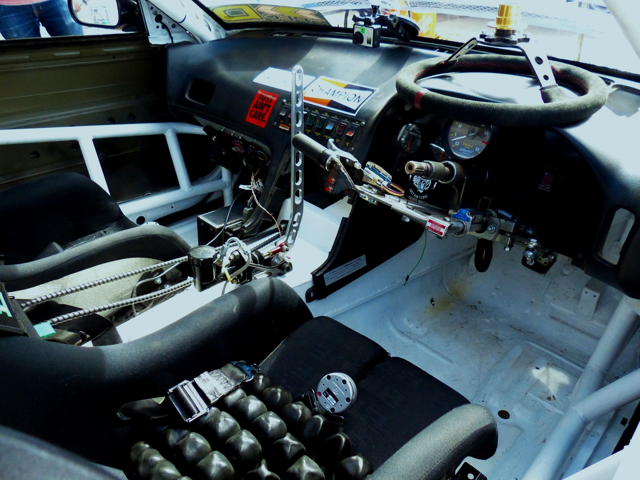 CONTROL SYSTEM - ◘ CS Foundation Custom Hand Control System◘ Racepak Dash◘ Enfield Pneumatic Clutch◘ Enfield Pneumatic Shifter◘ Haltech 2500 Elite ECU◘ Hydraulic Hand Brake [Auto-Disengage Clutch]◘ NRG Steering Wheel