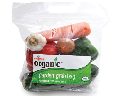 World Variety Produce launched organic vegetable kits in pouch bags last December, says Robert Schueller, director of marketing.  ©World Variety Produce