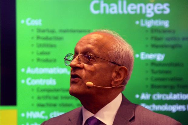 Former head of the of US National Institute of Food & Agriculture Sonny Ramaswamy - image:HW