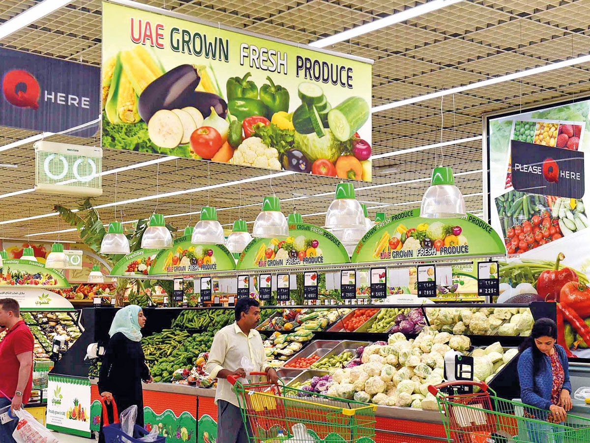 Supermarkets will soon have a lot more options of premium local produce than currently available. Many items will also have an all new 'Emirates Sustainable Agriculture Label'Image Credit: Abdul Rahman/Gulf News