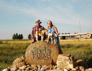 Doug and Anna Crabtree (Photo: Vilicus Farms)