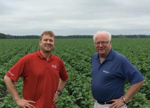 Black Gold Farms CEO Eric Halverson (left) and Board Chair Gregg Halverson (right)
