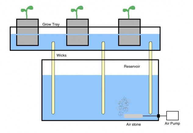 Image From:   https://www.thespruce.com/hydroponic-gardens-wick-system-1939222
