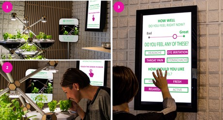 """The Living Farming Tree (LFT) utilizes a """"gamification"""" strategy to engage employees in offices to become active participants in their own health."""