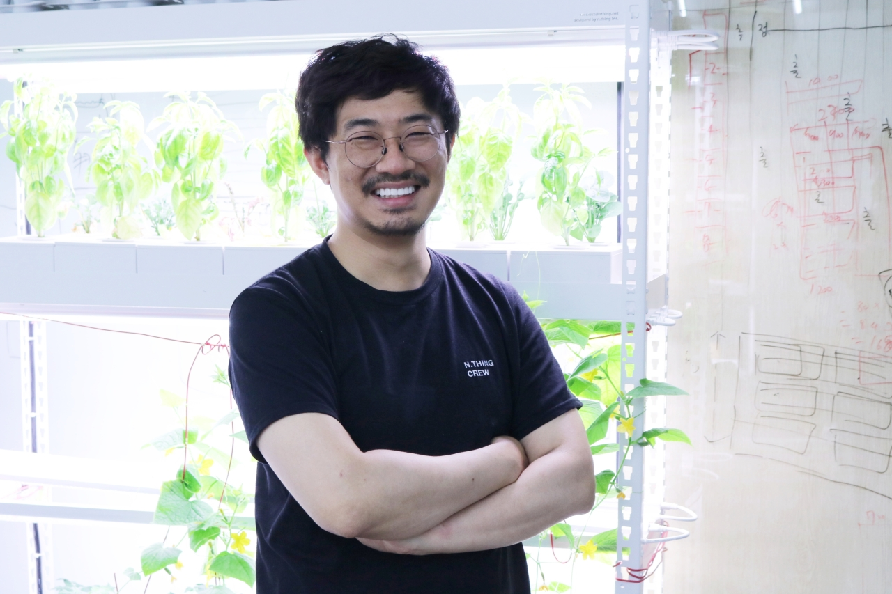 n.thing CEO and co-founder Kim Hye-yeon Son Ji-hyoung / The Investor