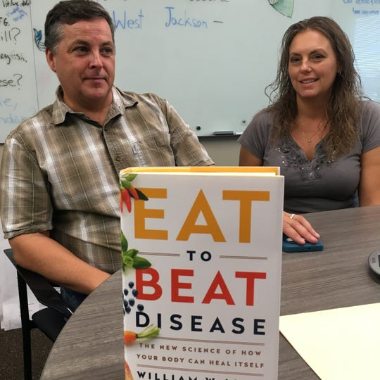 Glynn and Kellie Barber are growing food to fight disease.  (Photo: Seth Slabaugh, The Star Press)