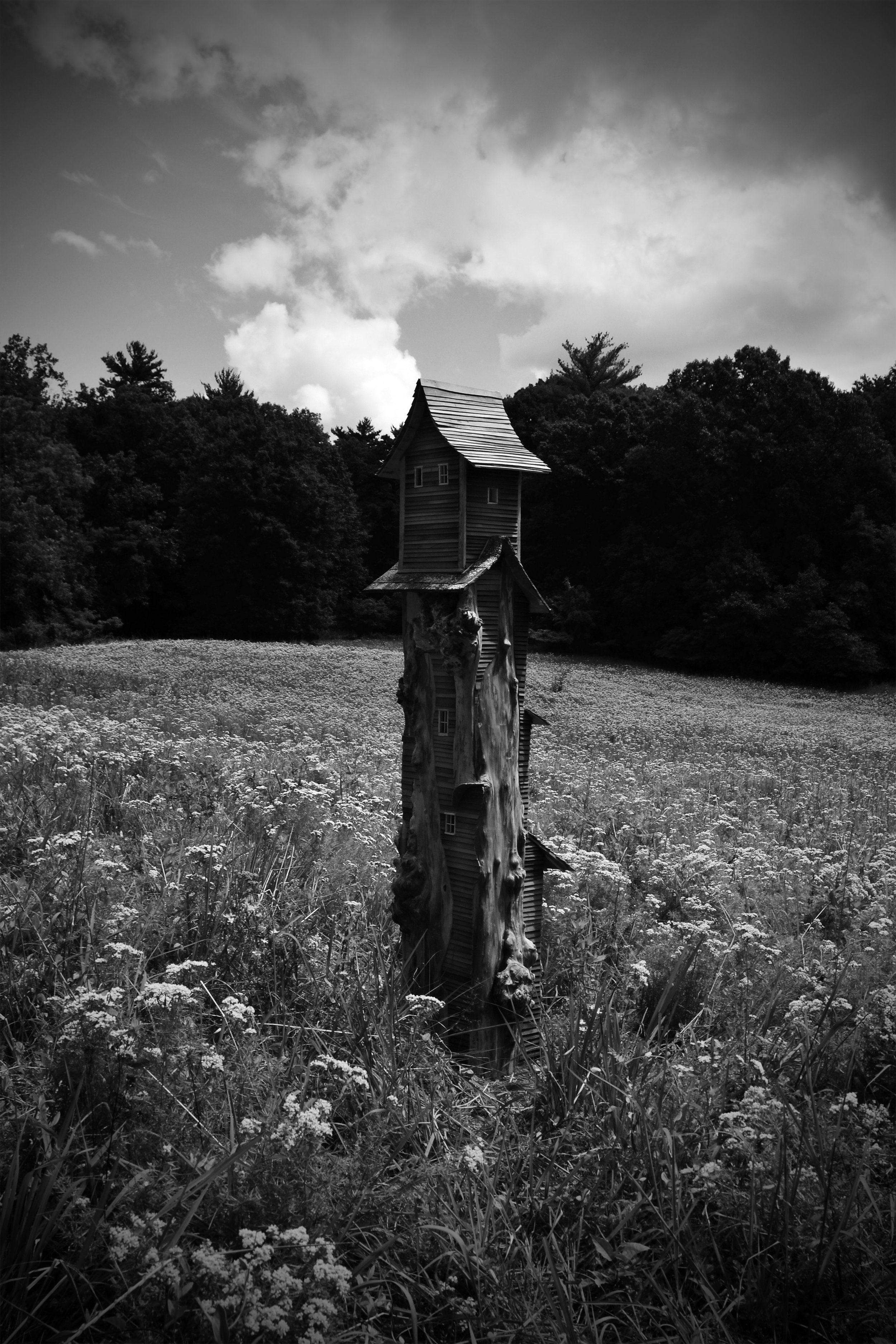 Slab Tower, Photograph/Sculpture, Robert Hite, 2012