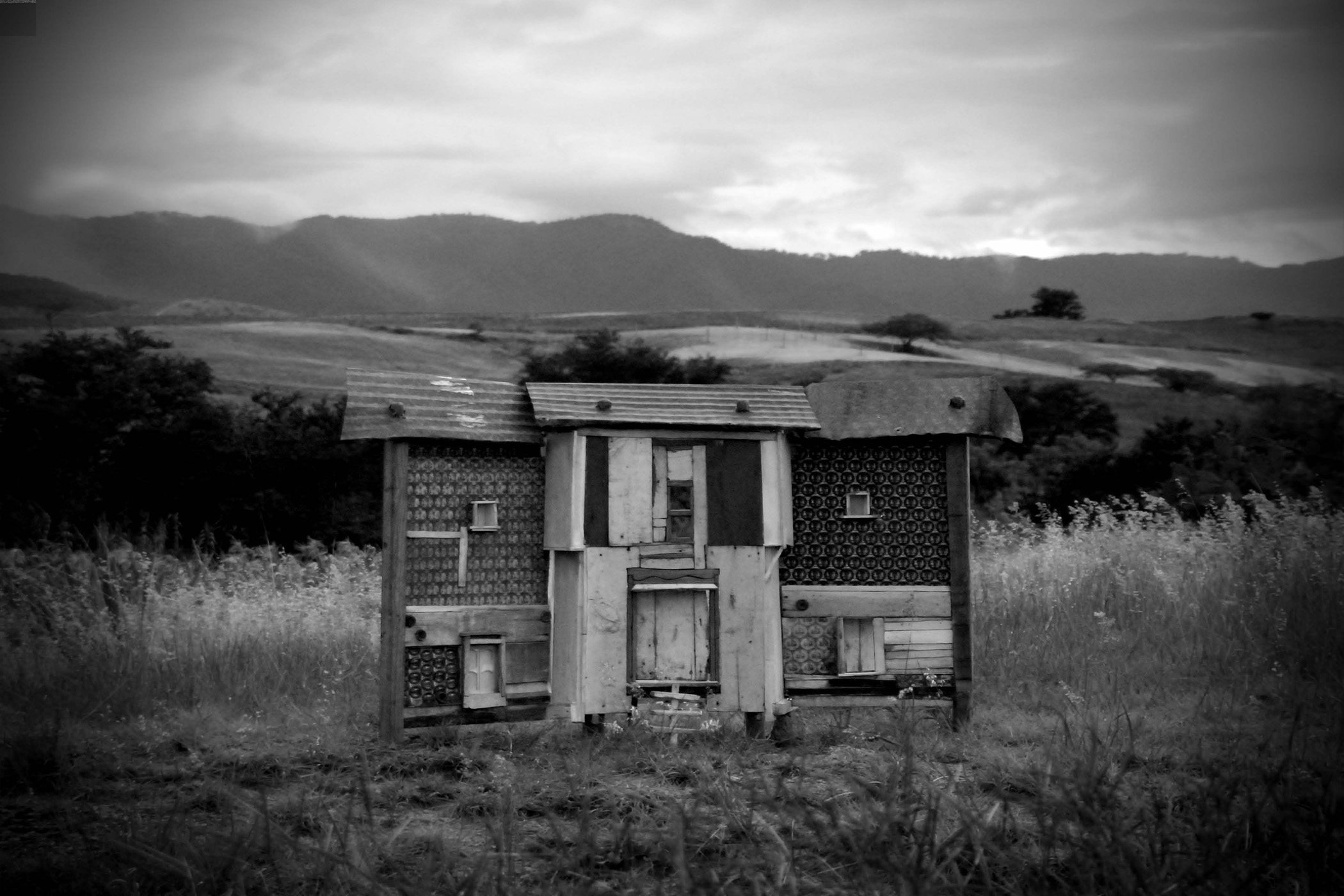Oaxaca House, Photograph/Sculpture, Robert Hite, 2007