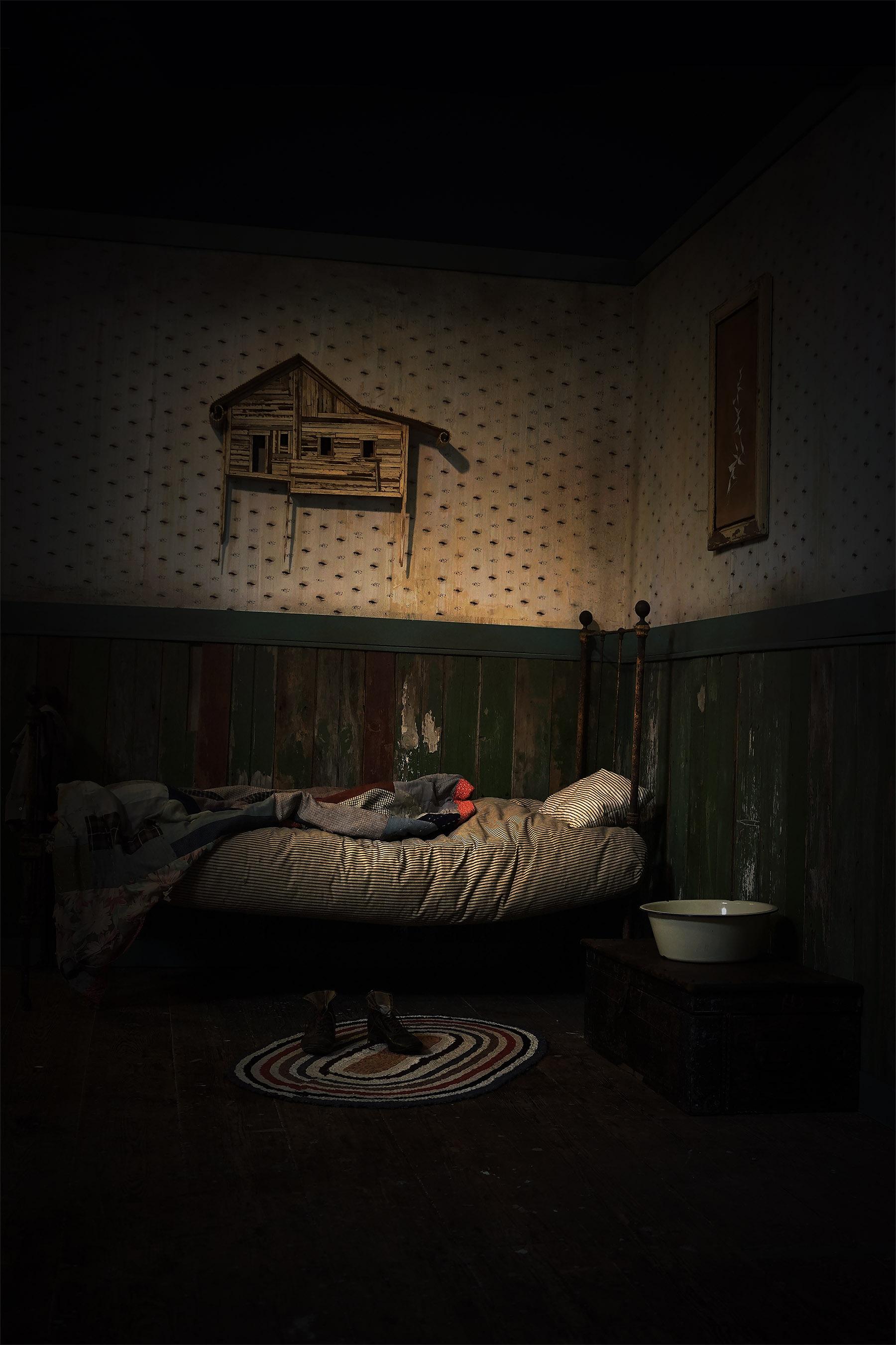 Jakes Room, Photograph/Installation, Robert Hite, 2016
