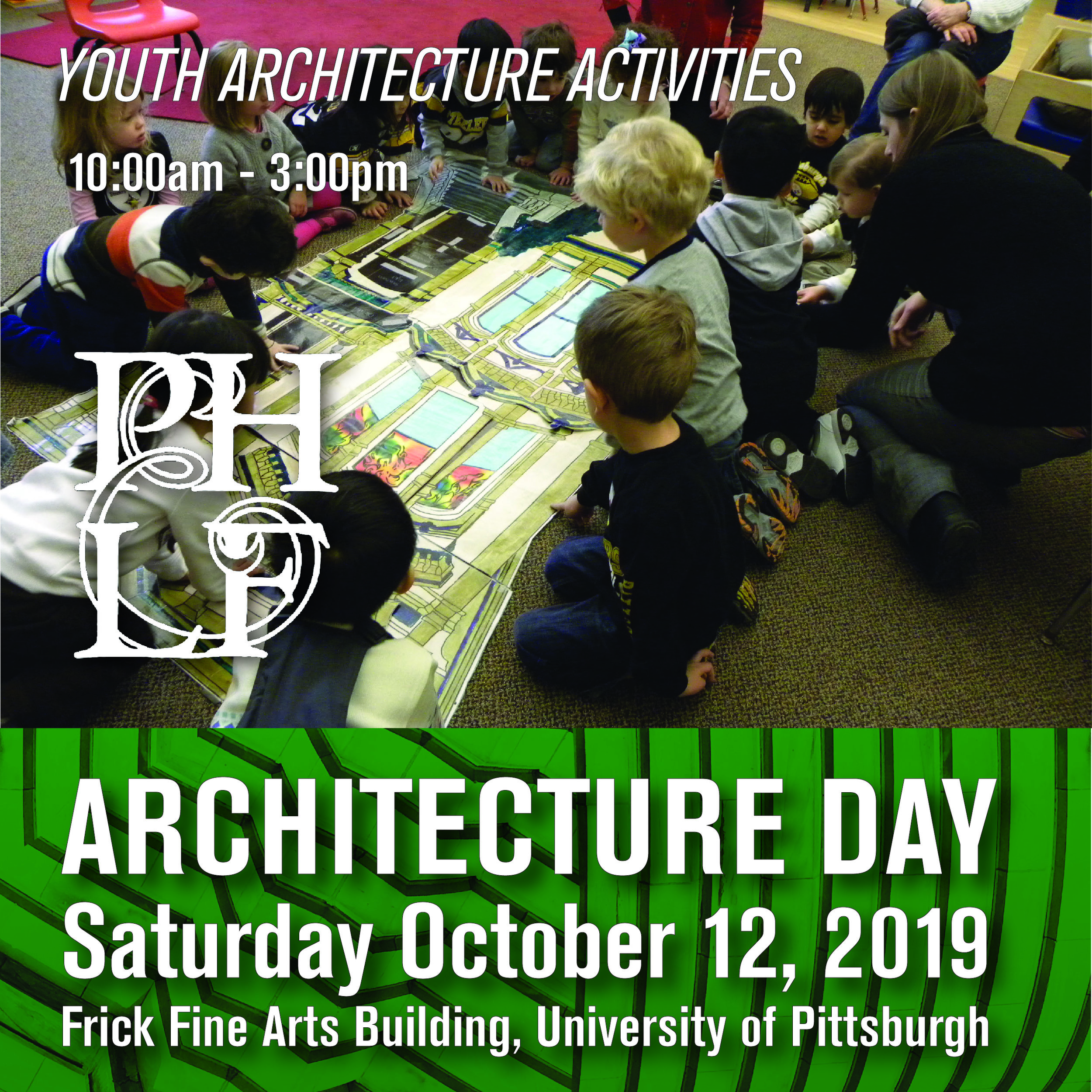 Youth Activities with PHLF 10:00am-3:00pm