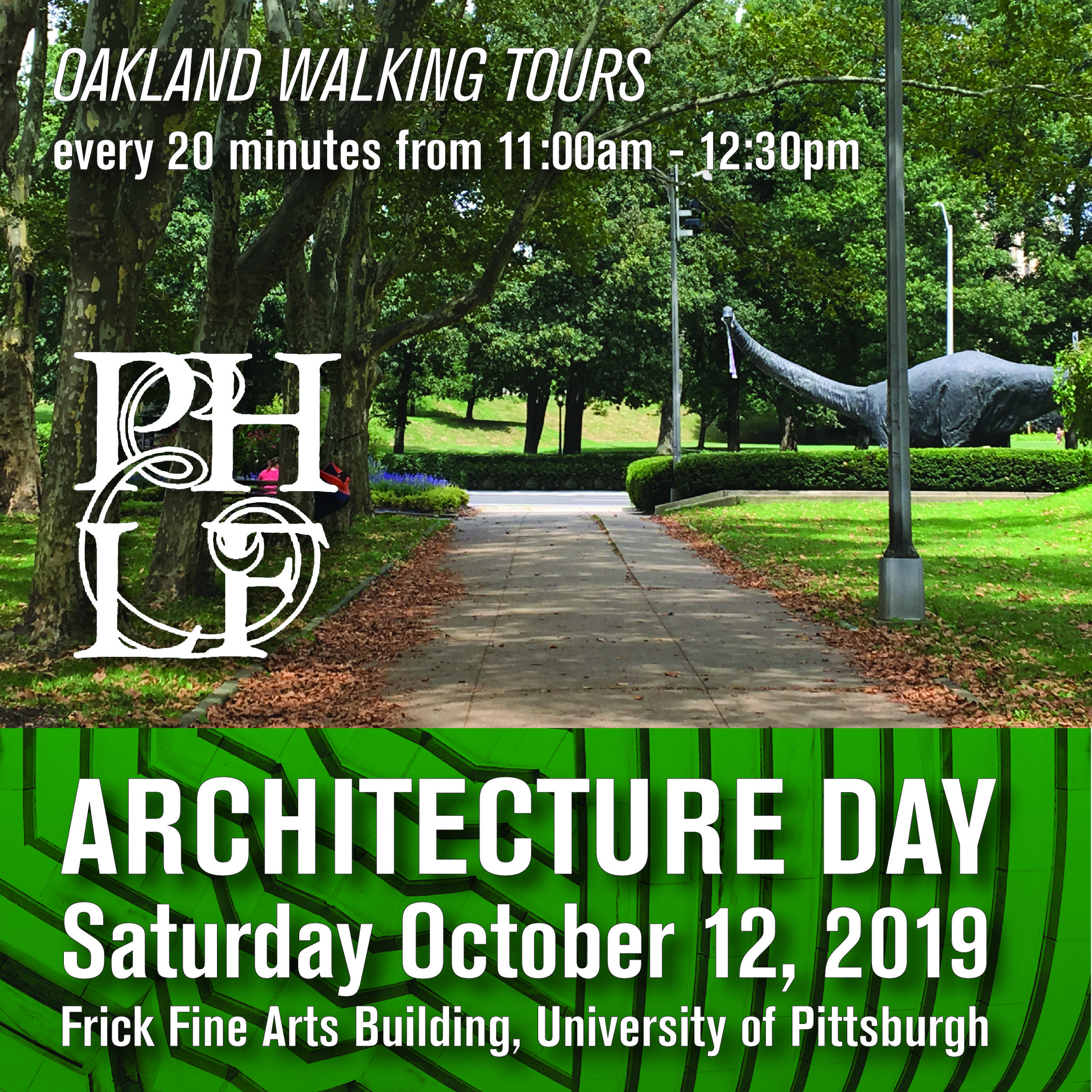 Walking Tours with PHLF 11:00am-12:30pm
