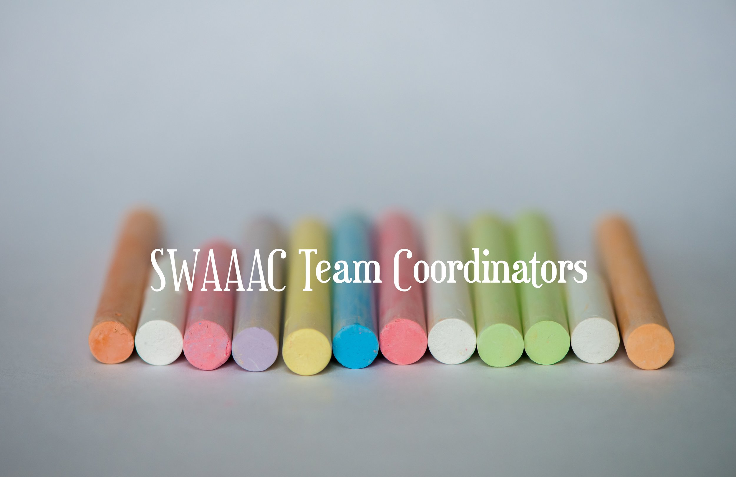 SWAAAC Team Coordinators