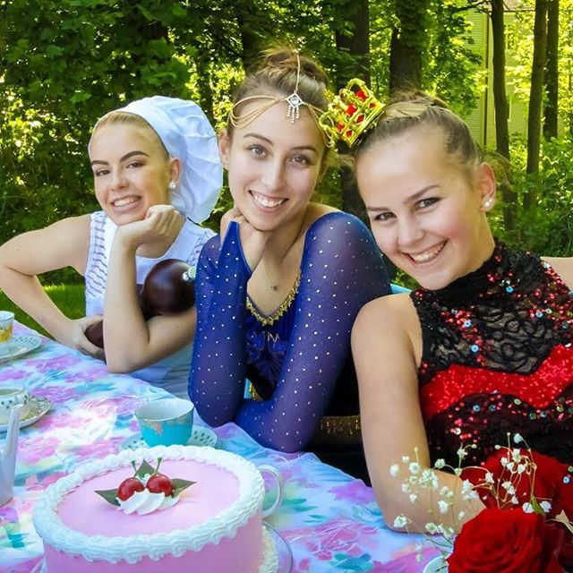 Congratulations on a beautiful last performance to our graduating seniors! Eugenia, Kyra, and Julia, we will miss you so much! Best of luck on your next steps to college and we'll see you backstage at Nutcracker this December - it's tradition! #seniors #graduation #ballet #ridgefieldct