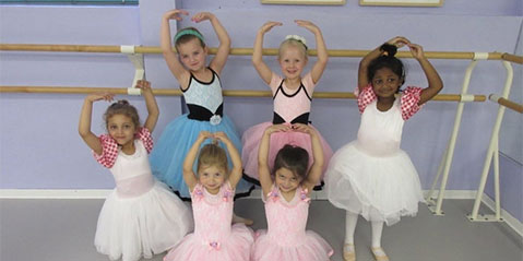 Tiny Dancers: Ridgefield School Offers Ballet for the Very Young